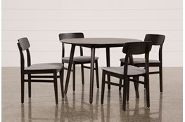 Swift 5 Piece Round Dining Set