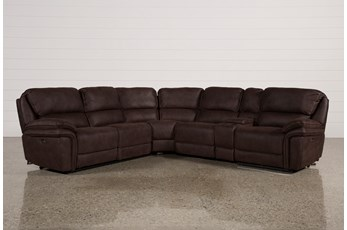 Norfolk Chocolate 6 Piece Sectional