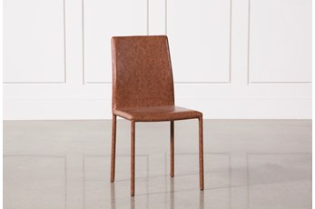 Hayden Cognac Side Chair