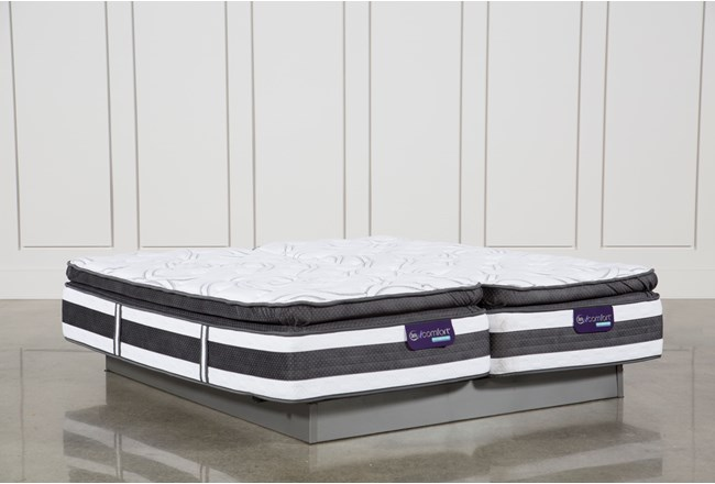 Observer Pillow Top Eastern King Split Mattress Set - 360