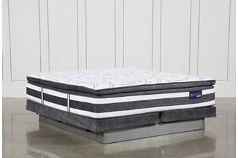 Observer Pillow Top Cal King Mattress W/Low Profile Foundation