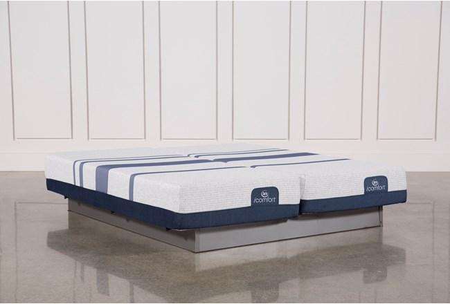 Blue 300 Eastern King Split Mattress Set - 360