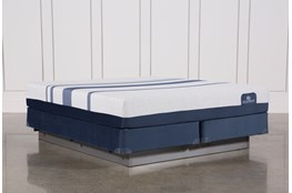 Blue 300 Eastern King Mattress W/Foundation