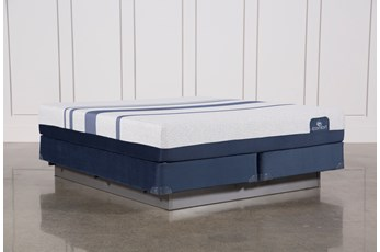 Blue 300 California King Mattress W/Foundation
