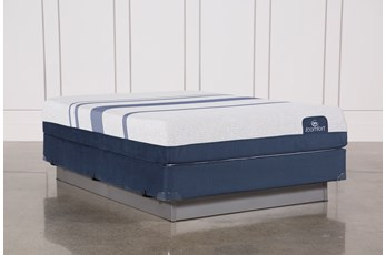 Blue 500 Queen Mattress W/Foundation