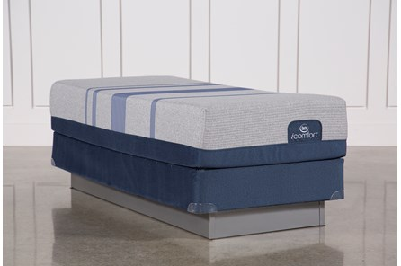 Blue Max 1000 Plush Twin Extra Long Mattress W/Foundation
