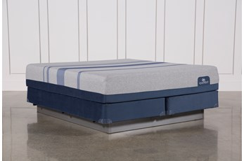 Blue Max 1000 Plush California King Mattress W/Foundation