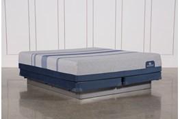 Blue Max 1000 Plush Cal King Mattress W/Low Profile Foundation