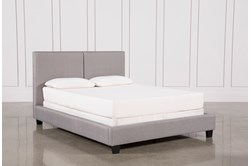 Rylee California King Upholstered Panel Bed