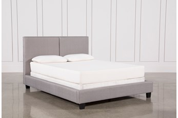 Rylee Eastern King Upholstered Panel Bed