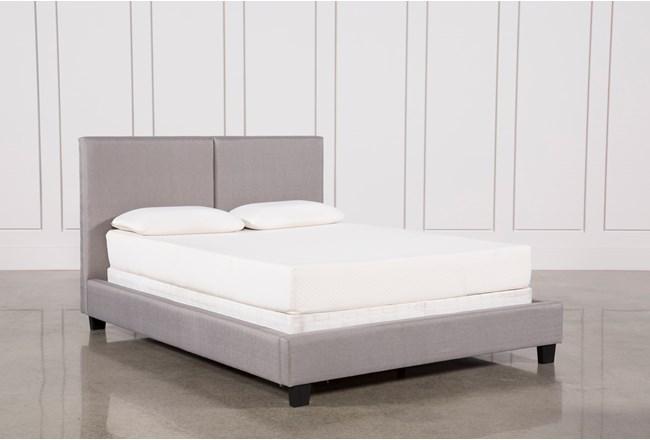 Rylee Eastern King Upholstered Panel Bed - 360