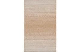 96X120 Rug-Woven Ombre Tan