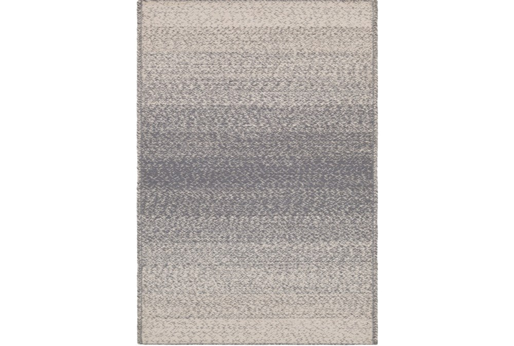60X90 Rug-Woven Ombre Slate