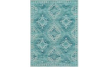 24X36 Rug-Wesley Diamond Turquoise