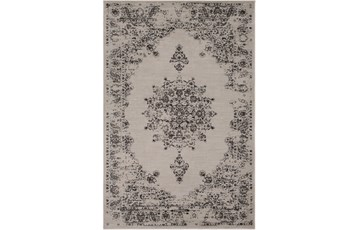 63X90 Rug-Adia Medallion Charcoal