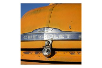 Picture-Yellow Chevrolet 24X24