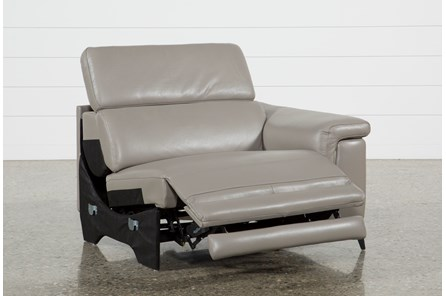 Thatcher Grey Right Facing Power Recliner