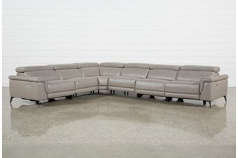Thatcher Grey 6 Piece Sectional