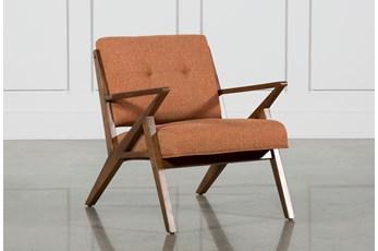 Aldo Orange Accent Chair