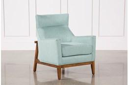 Benson Teal Accent Chair