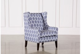 Cabot Blue Accent Chair
