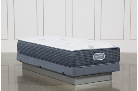 Palm Springs Luxury Firm Twin Xl Mattress W/Low Profile Foundation