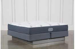 Palm Springs Luxury Firm Eastern King Mattress W/Foundation
