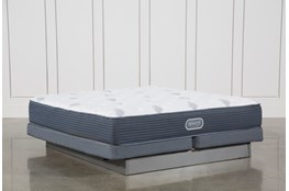 Palm Springs Luxury Firm Eastern King Mattress W/Low Profile Foundation
