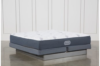 Palm Springs Luxury Firm Cal King Mattress W/Low Profile Foundation