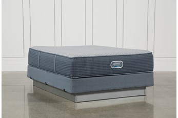 Vivid Shores Plush Queen Mattress W/Foundation