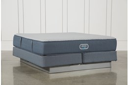 Vivid Shores Plush Eastern King Mattress W/Foundation