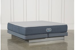 Vivid Shores Plush Cal King Mattress W/Low Profile Foundation
