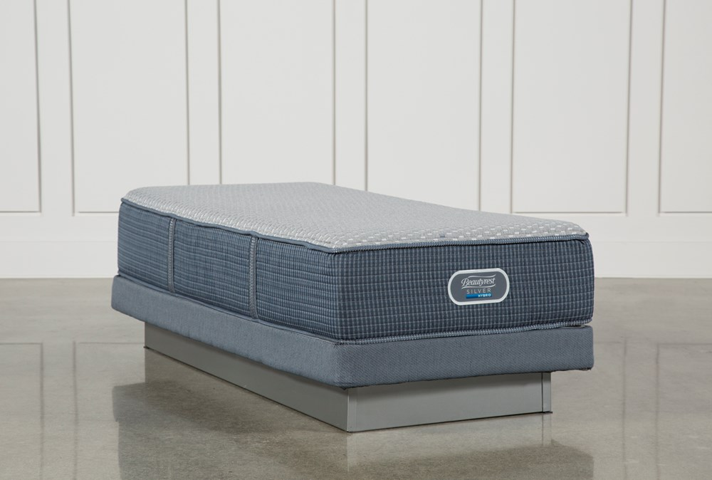 Victory Firm Twin Extra Long Mattress W/Low Profile Foundation