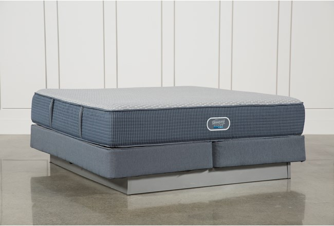 Victory Firm Eastern King Mattress W/Foundation - 360