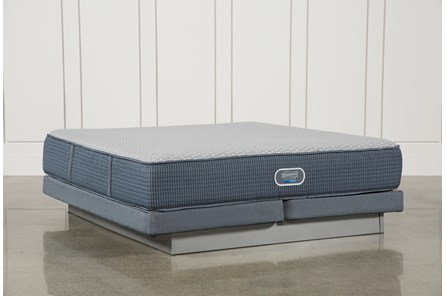 Victory Firm California King Mattress W/Low Profile Foundation