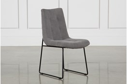 Smoke Grey Side Chair