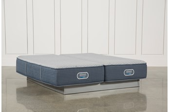 Ventura Plush Eastern King Split Mattress Set