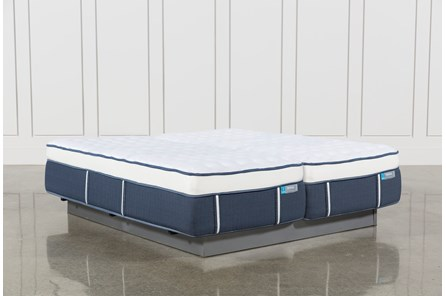 Blue Springs Firm Eastern King Split Mattress Set