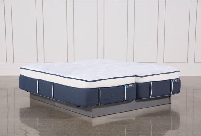 Blue Springs Plush Eastern King Split Mattress Set - 360