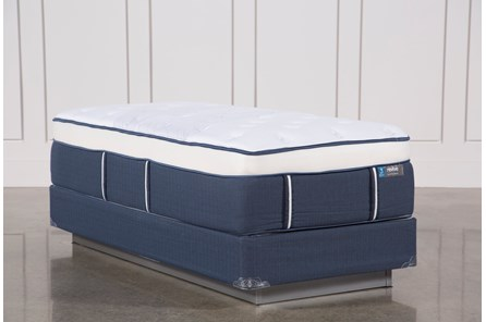 Blue Springs Plush Twin Extra Long Mattress W/Foundation