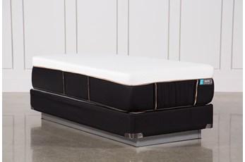 Copper Hybrid Firm Twin Extra Long Mattress W/Foundation