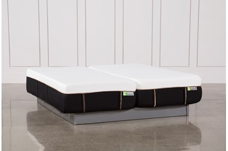 Copper Hybrid Medium Eastern King Split Mattress Set
