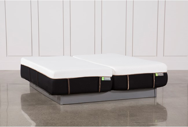 Copper Hybrid Medium Eastern King Split Mattress Set - 360