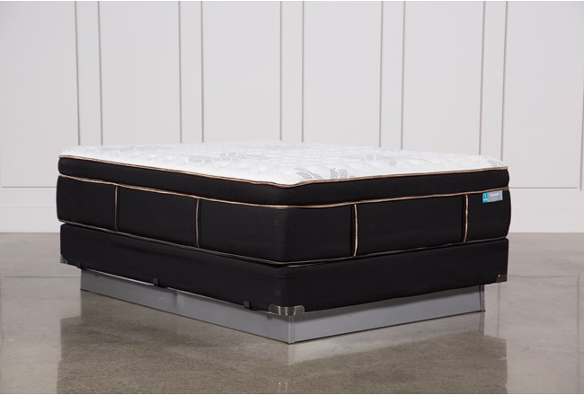 Copper Springs Firm Queen Mattress W/Foundation - 360