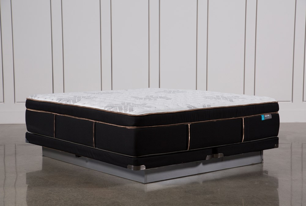 Copper Springs Firm Eastern King Mattress W/Low Profile Foundation