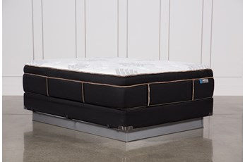 Copper Springs Plush Queen Mattress W/Foundation