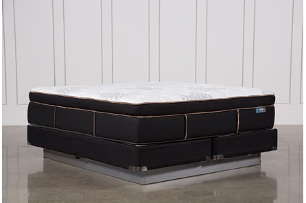 Copper Springs Plush Eastern King Mattress W/Foundation