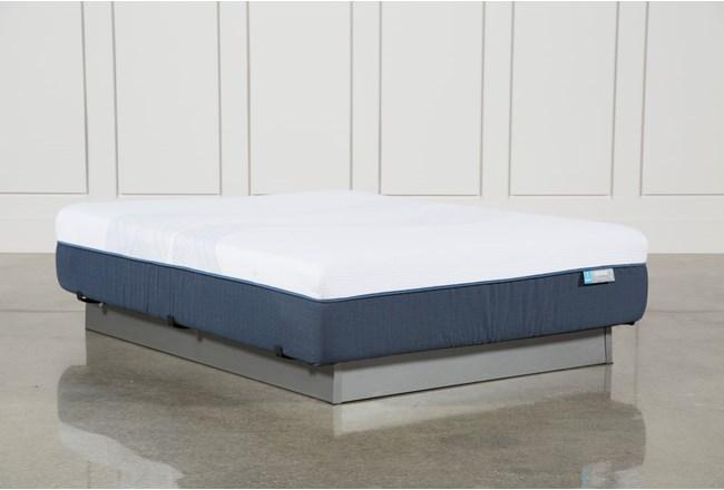 Blue Hybrid Firm Queen Mattress - 360