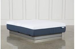 Blue Hybrid Plush Twin Extra Long Mattress
