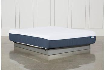 Blue Hybrid Plush Eastern King Mattress